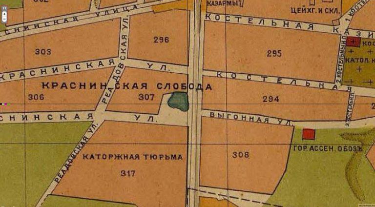 """Retromap: """"План г. Смоленска 1916 года"""", 04.07.2015 г."""