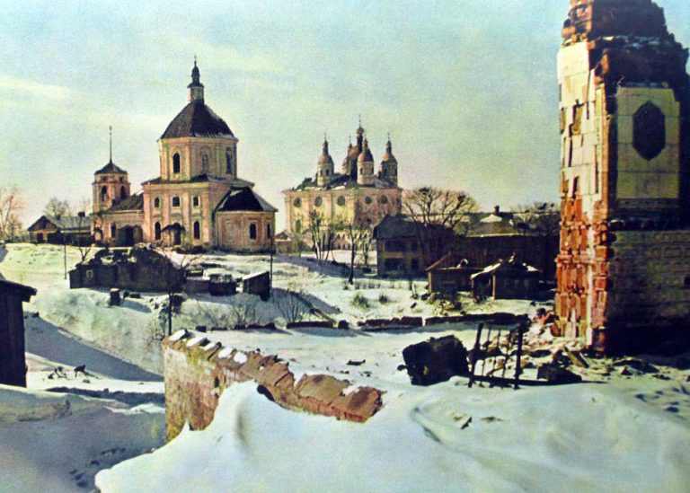 Смоленск в цвете 1941-1942 (видео + фото оригиналы)