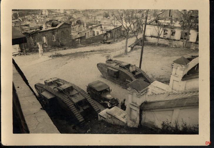 Mk V «Риккардо» - танк первой мировой войны у Собора