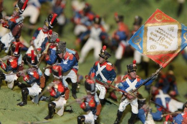 Фрагменты панорамы сражения при Валутиной горе в августе 1812 года