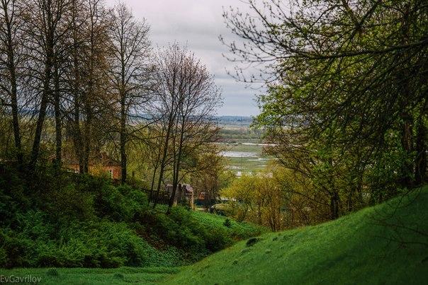 Весенний пейзажик на задворках Смоленской области
