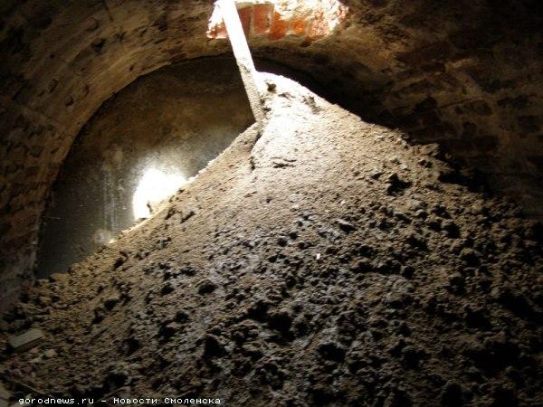 Старинный подземный ход на месте строительства многоэтажки