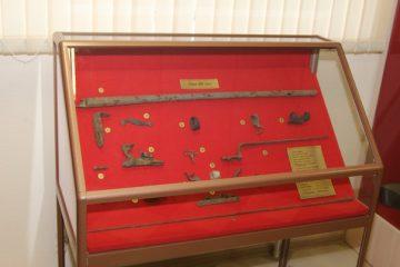 Фрагменты экспозиции военно-исторического музея «Во славу Отчизны»