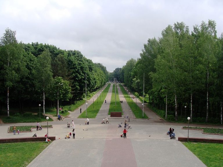 Реадовский парк - немного истории