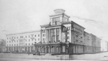 Гостиница Смоленск — немного истории