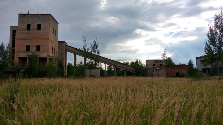 Заброшенный керамзитный завод неподалеку от Демидова