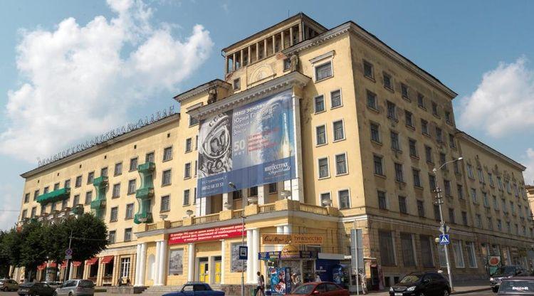 Здание до реставрации