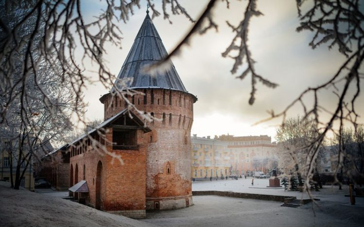 Музей военной истории в башне Громовой от РВИО
