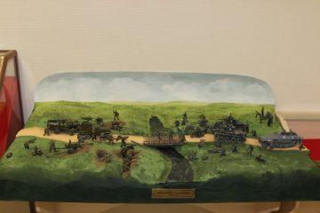 Фрагменты диорамы «Бой на реке Колоднянке в 1941 году»