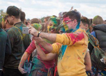 Подробный фотоотчёт с фестиваля красок 28 мая