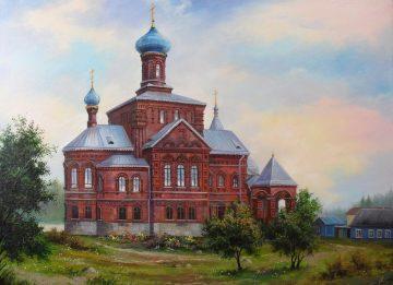 Картина «Николо-Георгиевский Храм в селе Смогири»