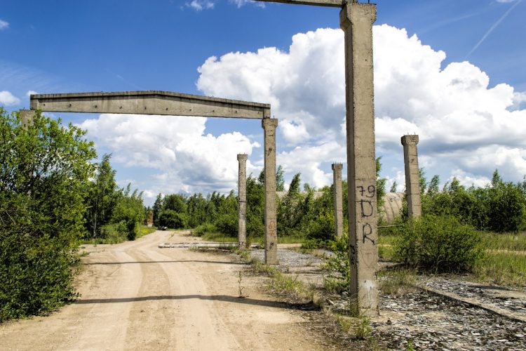 Постапокалиптические руины на аэродроме «Северный»
