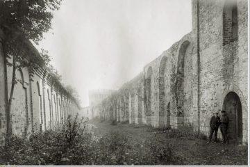 Авраамиев монастырь — стена внутри стены