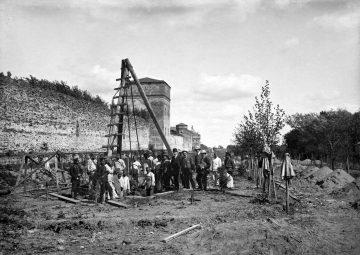 Начало XX века. Строительство «Сквера героев»