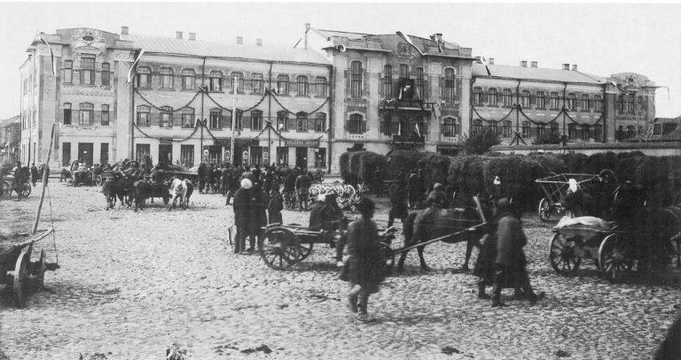 Торговля на Сенной площади, начало XX века