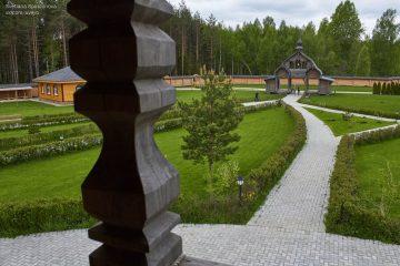 Ещё немного деревянного зодчества у истоков Днепра