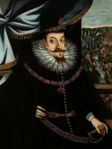 Портрет Сигизмунда III при осаде Смоленска