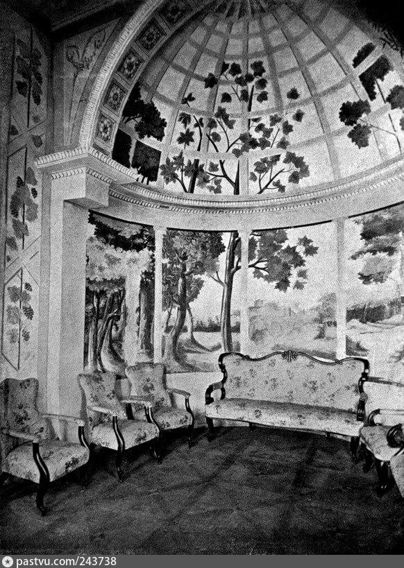 Альков малой гостиной во дворце князя Потемкина, 1900-1917