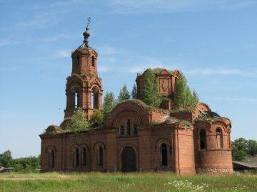 Никольская церковь в селе Корсики под Ершичами
