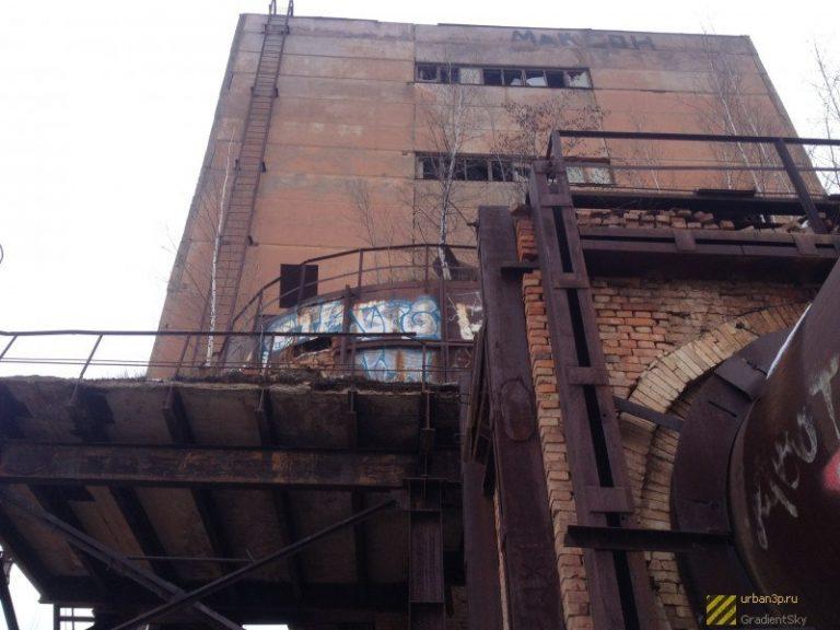 Заброшенный керамзитный завод в Смоленске