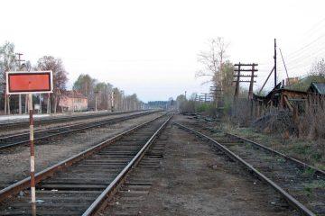 Станция Сошно неподалёку от посёлка Озерный