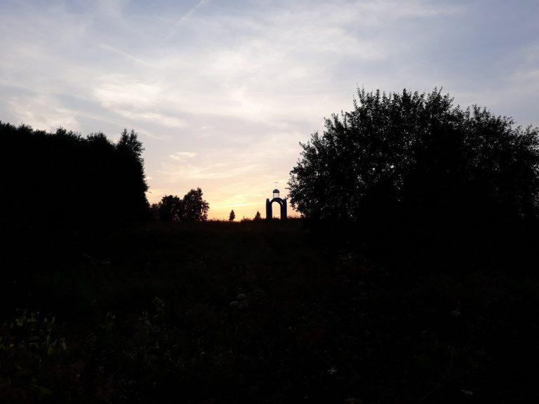 Часовенка памяти Меркурия Смоленского в Долгомостье