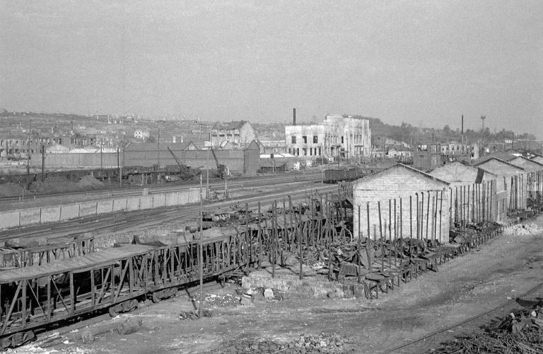 Район вокзала. 1941 год. Начало оккупации