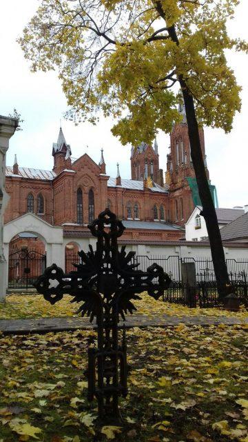 Осень на Польском кладбище