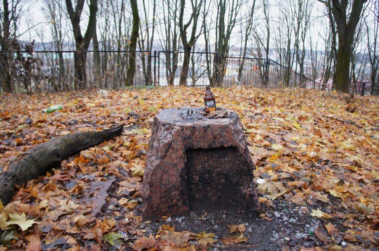 Канувшее в лета Лютеранское кладбище на улице Бакунина