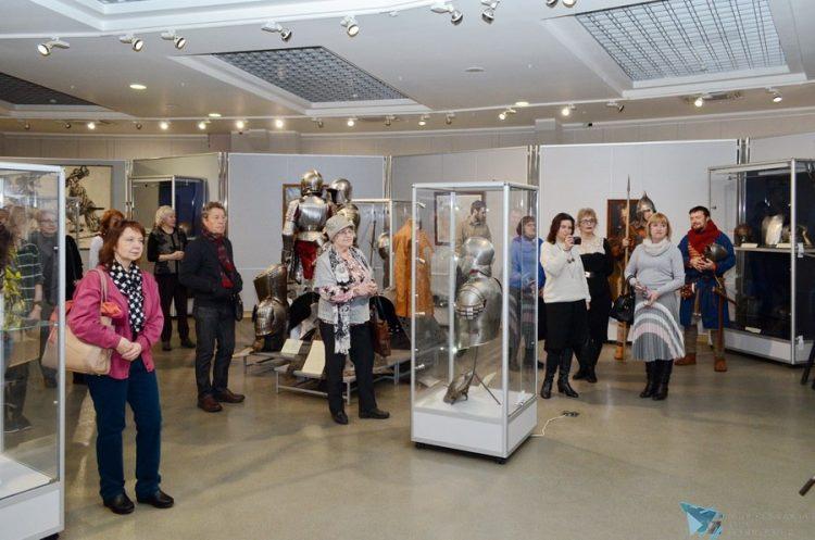 Выставка вооружения Западной Европы XVI-XVIII вв. «Рыцарские доспехи» в КВЦ