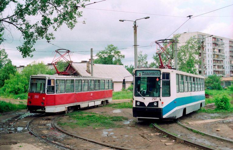 1994, кольцо на ул. Багратиона