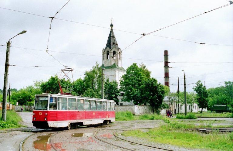 1994, кольцо на ул. Кашена