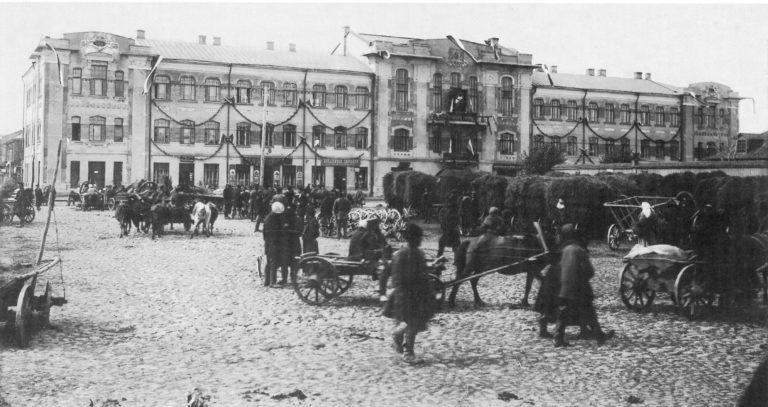 Сенная площадь. 1912