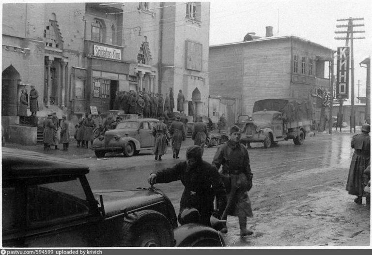 Синагога - Немецкий кинотеатр