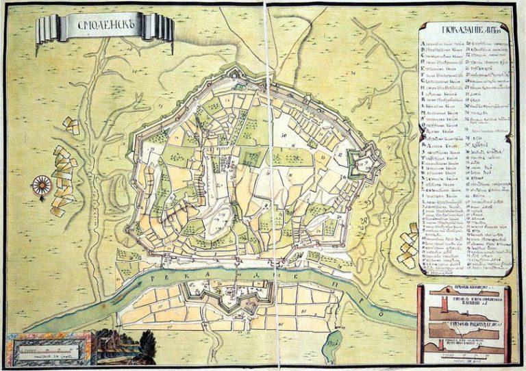 Середина XVIII столетия. На месте Блонье под номером 30 — треугольная плац-парадная площадь, окружённая садами и частной застройкой.