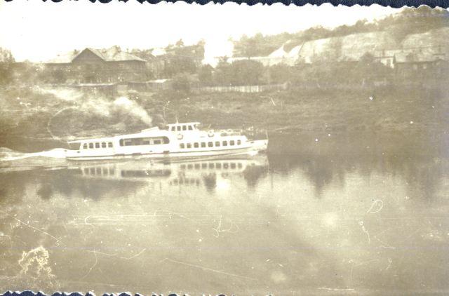 Теплоход «Ока». 1963