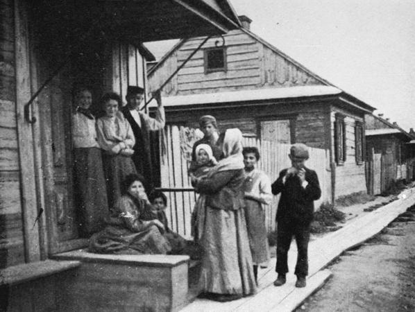 Семья евреев, начало XX века