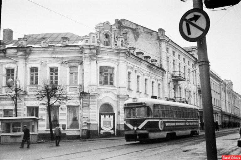 Весенний Смоленск (март 1988 года). Улица Большая Советская