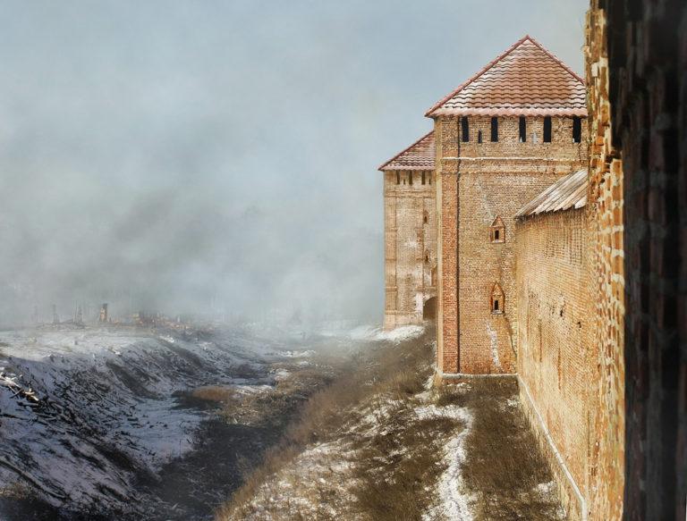 Город Смоленск, Смоленская крепостная стена, башня...