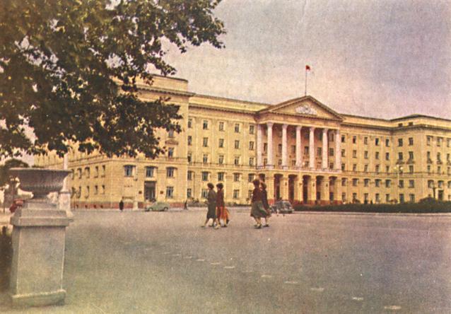 Дом советов. 1962 г