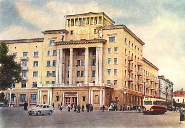 Гостиница (Смоленск). 1962 г