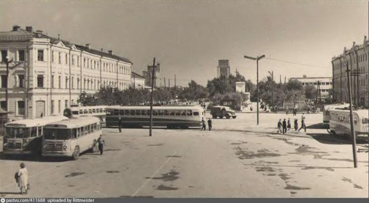 Колхозная площадь в Смоленске, 1960-е