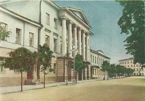 Медицинский институт. 1962 г