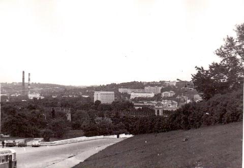 Вид на город с Соборной горы