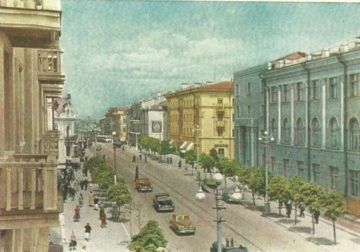 Серия открыток с видами Смоленска, 1962 год