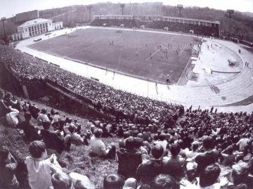 Стадион Спартак, 1985 год