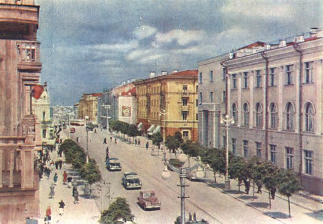 Ул. Большая Советская. 1962 г