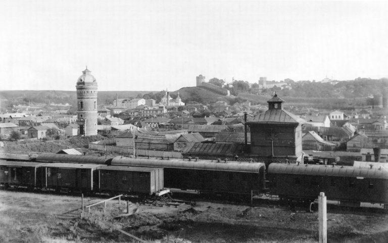 Товарная станция Рязано-Уральской железной дороги