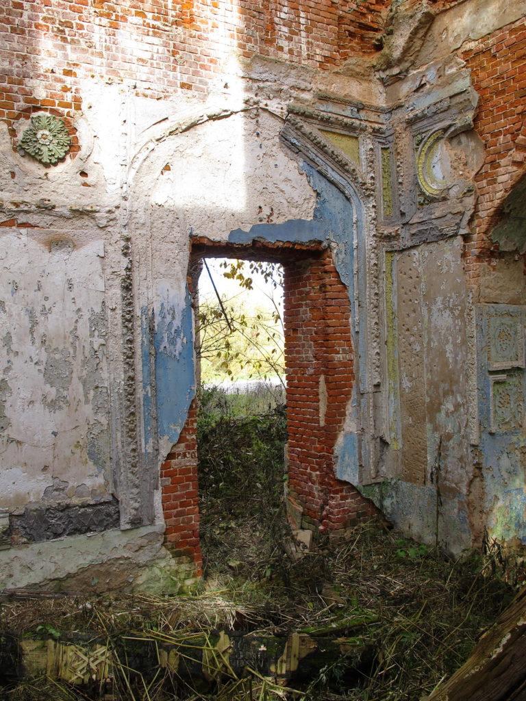 Усадьба Голицыных-Муромцевых в деревне Пречистое Гагаринского района