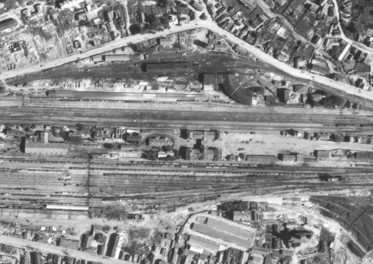 Немецкая аэрофотосъемка Смоленска 1941-1943 годов